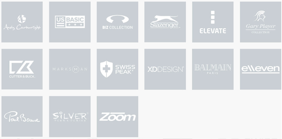 Brands of Corporate Clothing and Promotional Gifts.