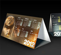 Tent CalendarsTriangle Desk Calendars South Africa ... & Personalised Corporate 2018 Calendars and Diaries Durban