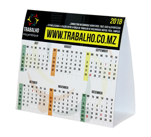 Tent Calendars, South Africa