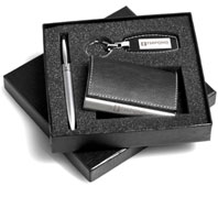 Card Holder, Pen and keyring set supplier, South Africa