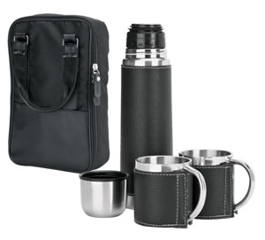 Steel Flask and Mug Set,South Africa