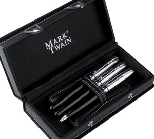 Mark Twain writing set