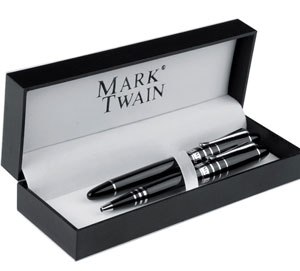 Mark Twain pen and pencil set