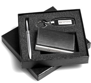 Card Holder, Pen and keyring set supplier,South Africa