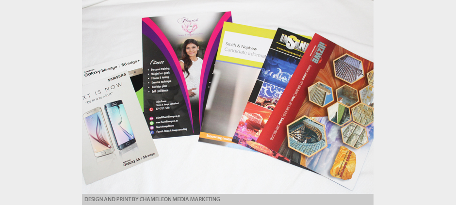 Flyer and Phamphlet Design and Print of Business Cards, Flyers Durban, KZN, ZA, South Africa