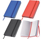 A5 PU Hard Cover Notebook Lined