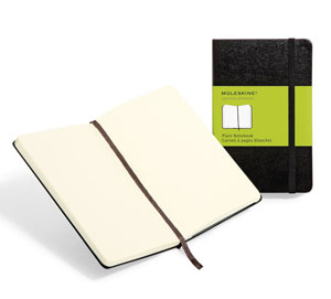 Moleskine A5 Hard Cover Plain,South Africa