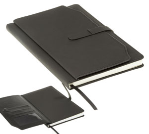 A5 Notebook with Outer Pouch,South Africa