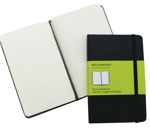 Moleskine A6 Hard Cover Pocket Plain,South Africa