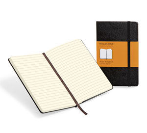 Moleskine A5 Hard Cover Large Lined, South Africa