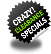 Crazy Clearance Specials in Promotional Gifts