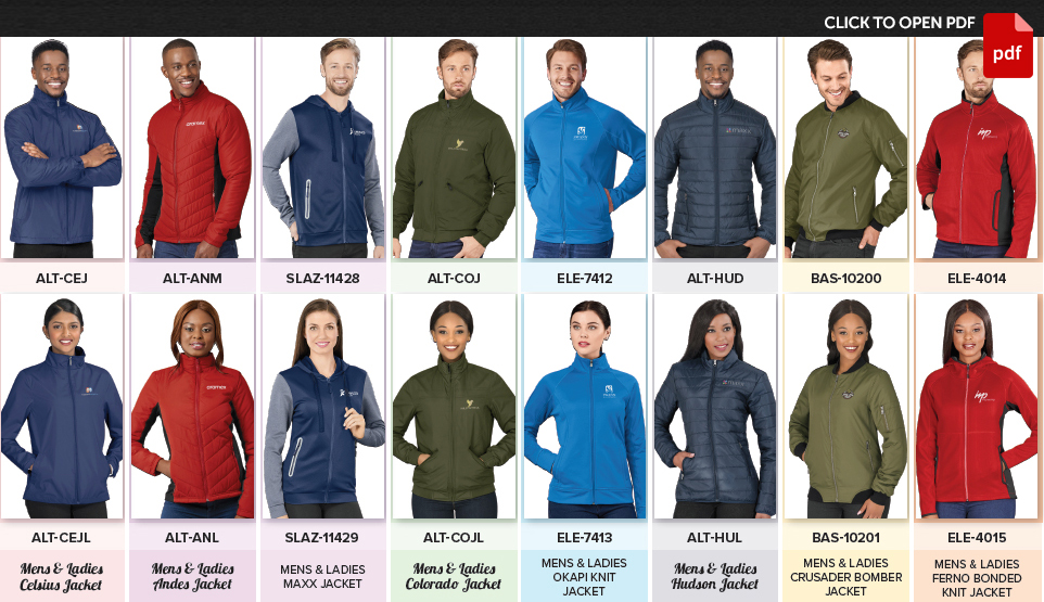 MEDIUM WEIGHT JACKETS